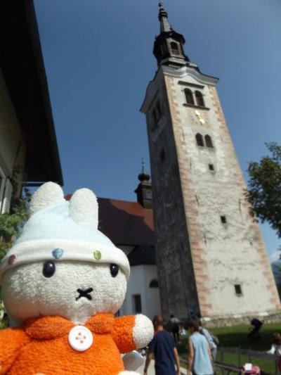 グーちゃん、スロヴェニアへ行く!(ブレッド湖/あの鐘を鳴らすのは貴方!編)