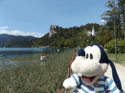 グーちゃん、スロヴェニアへ行く!(ブレッド湖/マリアさんへの告白・・・。編)