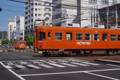 2017夏休み 四国観光列車乗り鉄の旅 4 松山の街ブラ~帰宅編