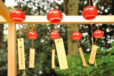 長月 夏から秋へー1 先ずは川越氷川神社 夏の祭事「縁結び風鈴」へ・・・その後は小江戸川越の街を散策です。