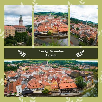 2017.8  今年もマイルで チェコ・オーストリア・ポーランド(&IST・SEL) 中世の美しい城と街並み 6)おとぎの国 チェスキークルムロフ