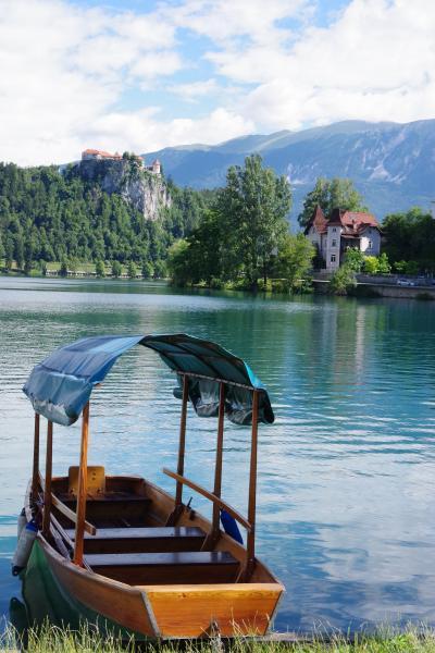 スロヴェニアのブレッド湖  旧ユーゴスラヴィア5か国周遊の旅 19