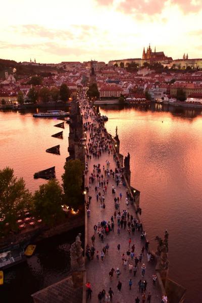 【中欧一人旅9】プラハ二日目、絶景に出会う。