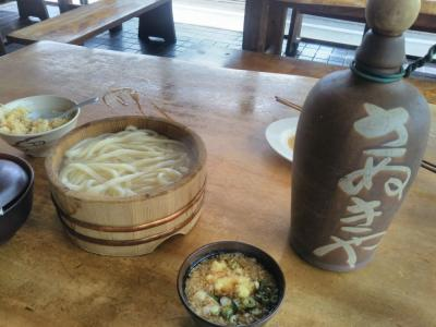 """たまには""""ベタ""""な郷土料理1708 「たらいうどん」   ~池田・徳島~"""