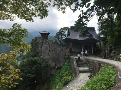初めての山形 姥湯温泉・羽黒山・山寺 一人旅(4)