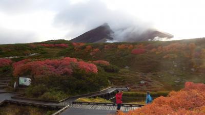 紅葉を見たい・・・旭岳へ