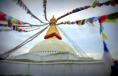 【震災後2年】ネパール一人旅 旅行記④ 聖地ボダナート感動の再訪