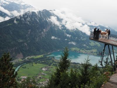 HISのスイス7日間ツアー参加。