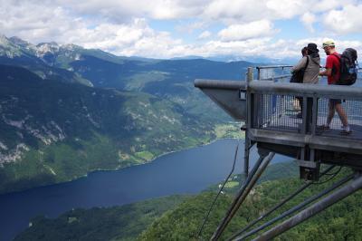 スロヴェニアのボーヒン湖  旧ユーゴスラヴィア5か国周遊の旅 20