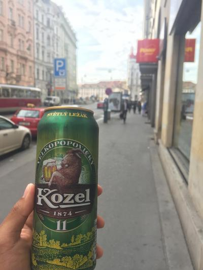 【中欧一人旅11】プラハ最終日は食べたいものを食べ、飲みたいものを飲み、買いたいものを買う!