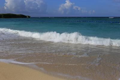 写真で伝える今年3回目の沖縄旅行3日目~朝食バイキング~朝のニライビーチ~瀬長島ウミカジテラス