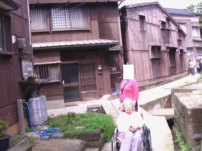 2007年(平成19年)9月母との最後の宿泊旅行に佐渡一周(小木 宿根木 国仲平野 佐渡金山 尖閣湾 外海府)ドライブ。