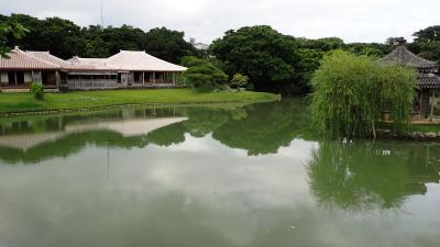 初めての、(ほぼ)真夏の沖縄(1日目 識名園)
