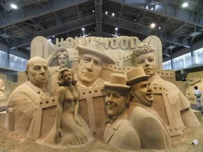 鳥取砂丘砂の美術館と倉吉の街並み 前編