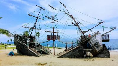 広野海岸公園と焼津グランドホテル 2歳11ヶ月と行く夏休みリベンジ旅行