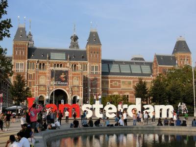 【現地駐在員の夏休み】ベネルクス3国(オランダ、ベルギー、ルクセンブルク)を巡る旅(1日目:オランダ・アムステルダム)