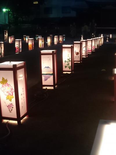 浅草灯籠会で幻想的な雰囲気に包まれる     :*:・゜'★.。・:*:・゜'☆♪