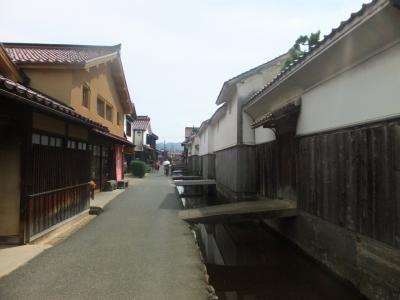 鳥取砂丘砂の美術館と倉吉の街並み 後編