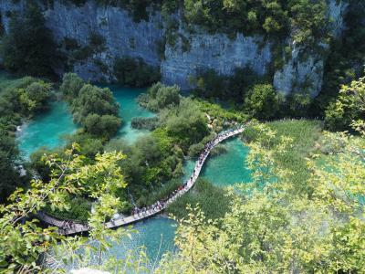 思い切って個人旅行★夏のクロアチア・スロヴェニア #3 クロアチアの桃源郷・プリトヴィッツェ湖群国立公園