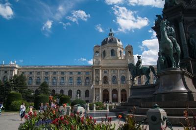 2017.8  今年もマイルで チェコ・オーストリア・ポーランド(&IST・SEL) 中世の美しい城と街並み 7)ウィーンの小路散歩とウィーンパス盛り沢山観光  前半 1・2日目