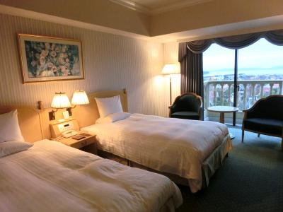2015年12月 ホテルオークラJRハウステンボスに宿泊しました。(部屋の様子)