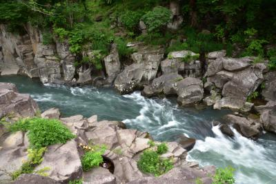 東京からの友人を案内して地元を知る旅2日目、一関・厳美渓と江刺・えさし藤原の郷