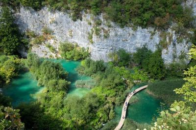 クロアチアに行ってきました2(プリトヴィツェ湖群国立公園)