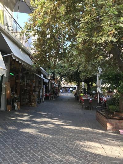 クレタ島ーサントリーニ島の旅 2(宿泊先とハニア)