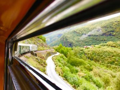 秋だ~大人の季節だ~どっかお出掛けしたぁ~い(^o^)/パスポート持って!そうだ北欧に行こ~~ベルゲン鉄道とフロム鉄道に乗ったよ~1