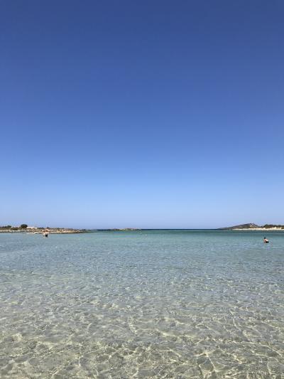 クレタ島ーサントリーニ島の旅 4(ビーチ編)