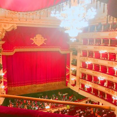 【ミラノとその周辺とりっぷ】DAY:2 ミラノ中心部とスカラ座でオペラ鑑賞