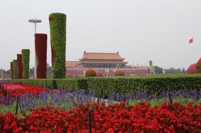 今更ながら憧れの初フランス旅【2】-- 北京トランジット ゆっくり廻る広大な天安門広場 --