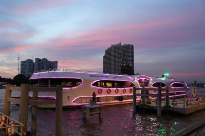 タイ*バンコク&アユタヤ6日間の旅2【象乗り・ダムナンサドゥアク水上マーケット・サムプラーン象園・チャオプラヤ川ディナークルーズ】