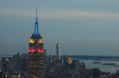 ニューヨーク、80時間ドタバタ旅行記 ③Top of the Rockからの911夜景
