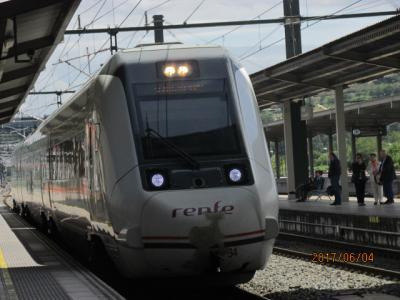 イベリア周遊の旅(28)Renfeに乗って隣駅へ。