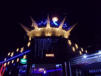 眠らない街 バンコク。深夜0時から・・燃える 終わりのない バンコク巡り。。大爆音 HOLLY WOOD @ラチャダー4(28の17)  You Tube METALLICA 10本