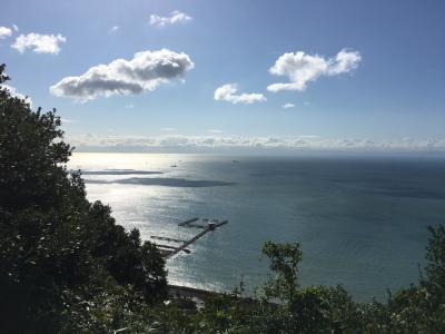 須磨浦公園からの山行き