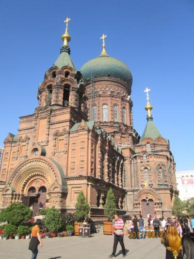 哈爾濱の聖・索菲亜(ソヒア)教堂(建筑芸術館
