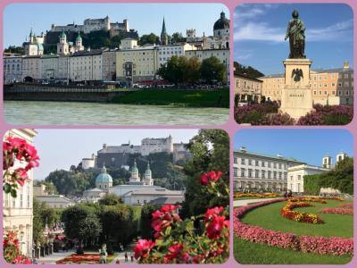♪中欧8♪なぜか『ザルツブルクの街をご一緒に!』になってしまった中欧8(^_^;)