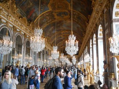 パリ・ベルギーへの旅【4日目】ヴェルサイユ宮殿へ