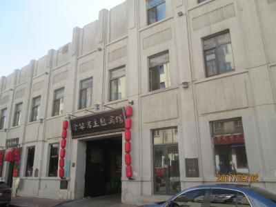 哈爾濱の南四道街・歴史建築