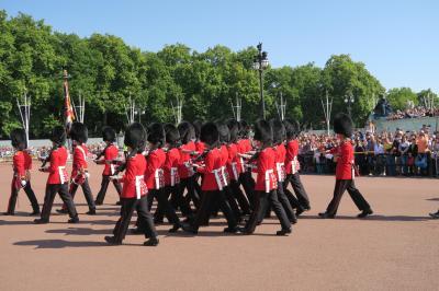 夏のロンドン旅行③ 衛兵交代式の場所取り極意・バッキンガム宮殿一般公開・フォートナム&メイソンで食事・ロンドンアイ、ビッグベン、トラファルガー広場、パディントン駅など
