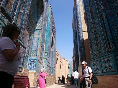 ウズベキスタン サマルカンド 5日間
