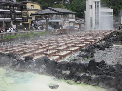 上州・草津温泉 その名も知れた天下の湯は湯畑と温泉街 ぶらぶら歩き暇つぶしの旅ー3