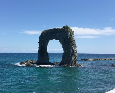 2017年9月 北海道への旅(1日目-4)~奥尻島をドライブ(その1)まずは島の東側を