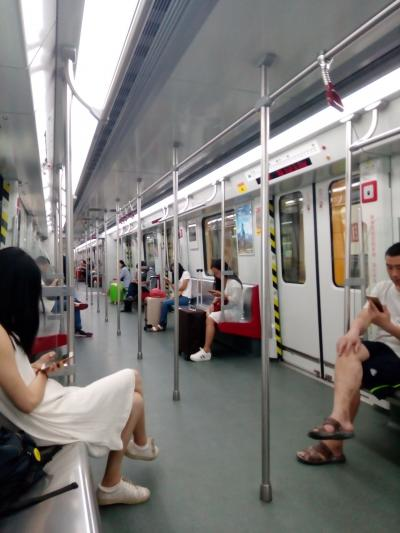 武漢から和諧号&地下鉄で広州へ