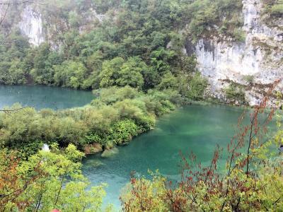 クロアチア旅行① プリトヴィツェ湖群国立公園