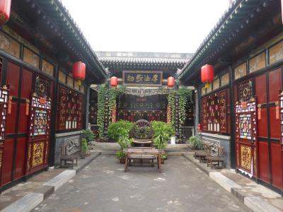 3歳娘を連れて中国山西省7日間の旅1-リアルな古い町並み!平遥古城前編
