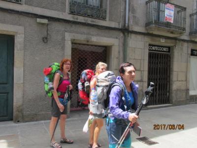 イベリア周遊の旅(30)パドロン市街地にて。