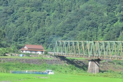 美しいトラス鉄橋と水門のある「三江線の夏旅 2017」(広島島根)